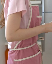 Trimming Apron: Pink
